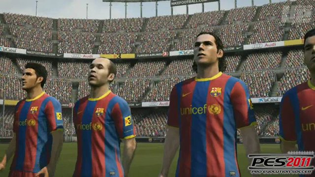 FIFA-PES-Vergleich - Spielergesichter