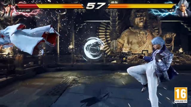 Kazumi vs. Lee