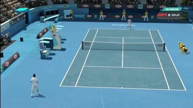Djokovic vs Murray-Spielszenen