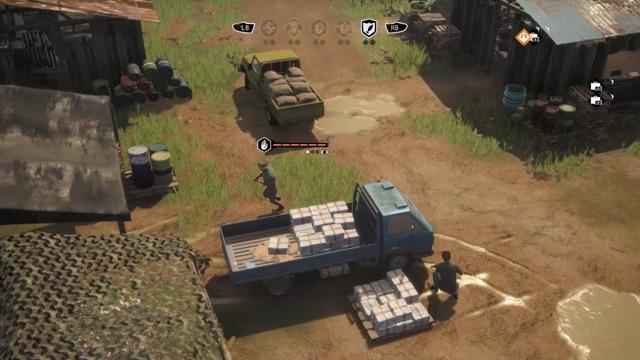 Narcos-Spielszenen: Lager attackieren