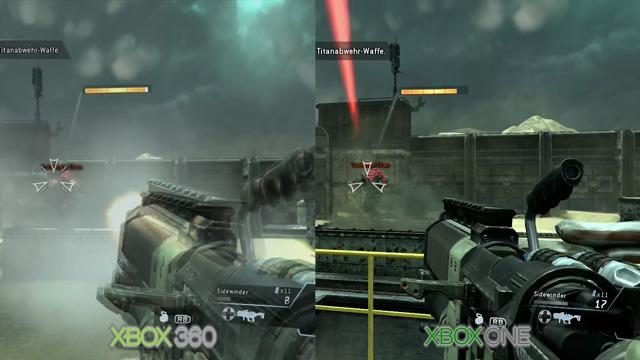 Xbox-360-/ Xbox-One-Grafikvergleich