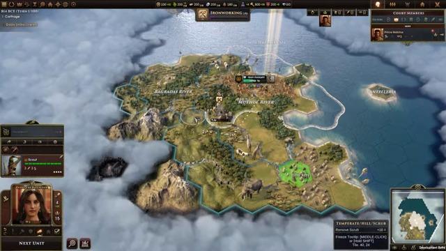 Ox Hide Carthage Scenario Unlocked
