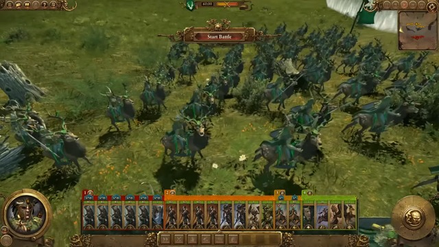 Realm of the Wood Elves - Battle