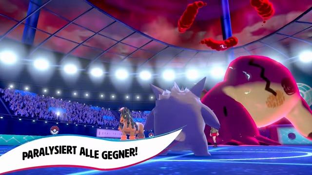 Neue Gigadynamax-Pokémon
