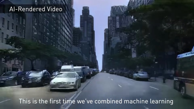 Research: The First Interactive AI Rendered Virtual World