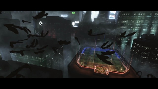 Ankündigung des Batmobils