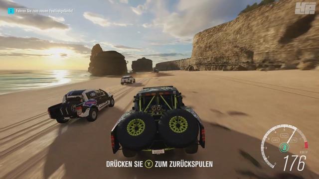Spielszenen aus der Demo (Xbox One)