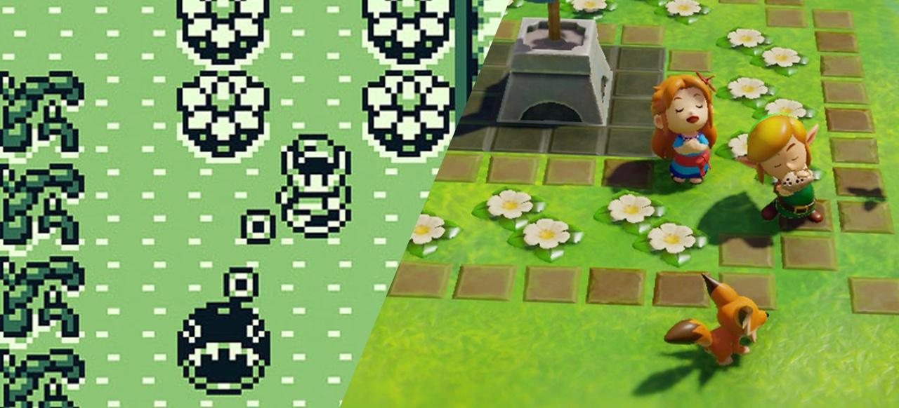 Game Boy vs. Switch - Links Abenteuer im Vergleich