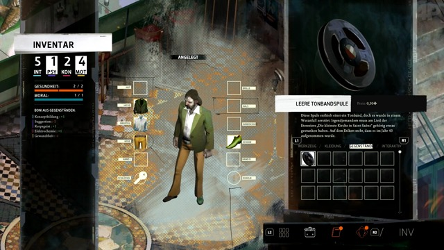 Video-Test: Disco Elysium