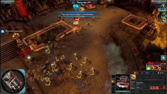 Multiplayer-Partie Orks gegen Eldar