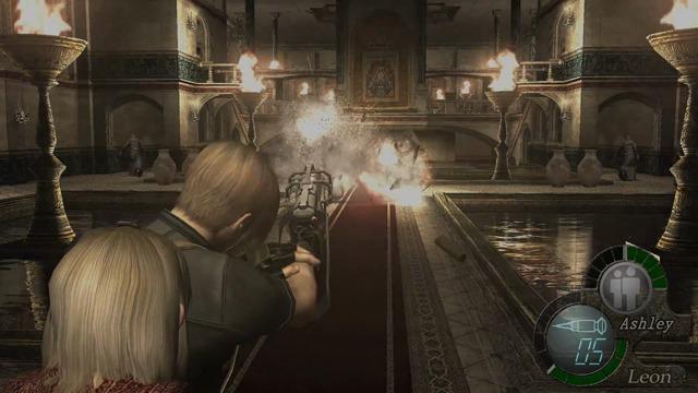 Ashley-Spielszenen (PlayStation 4 / Xbox One)