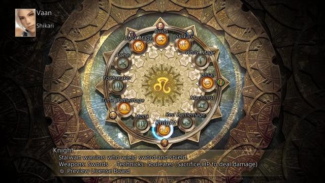 The Zodiac Age: Das Gambit-System