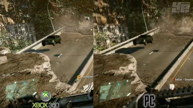 Grafik-Vergleichsvideo