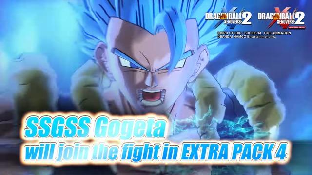 SSGSS Gogeta (Extra DLC Pack 4) Teaser