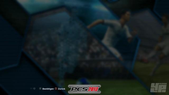 FIFA13/PES13 - Menüs