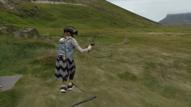 Steam VR Mixed-Reality-Experiment