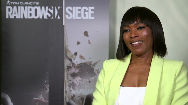 Angela Bassett in Rainbow Six Siege