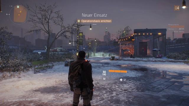 Xbox-One Spielszenen aus der Beta